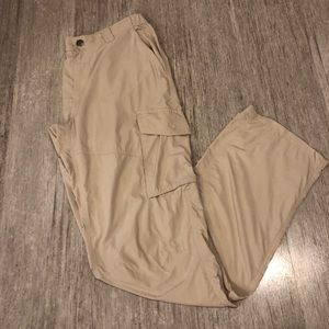 Columbia Omni-Shade Men's Kaki Pants 34X34